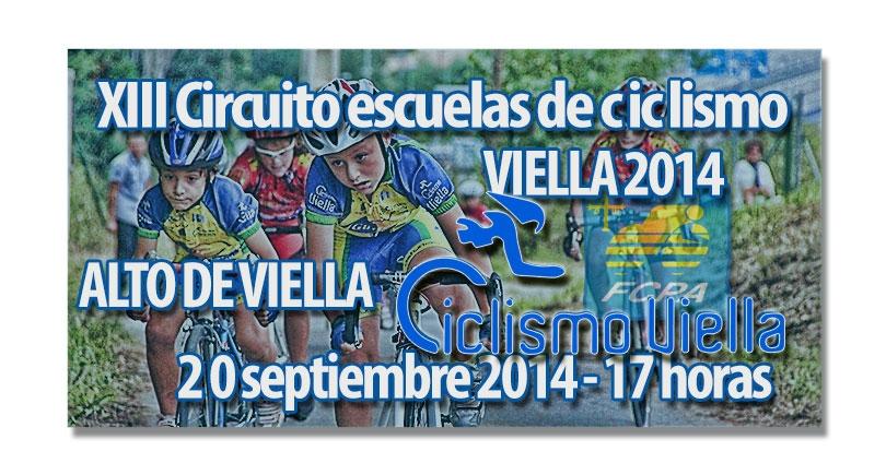 XIII Circuito de Escuelas de ciclismo Viella 2014