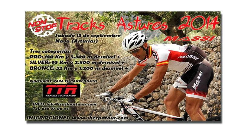 Tracks Astures Non Stop 2014 próximo sábado 13 septiembre