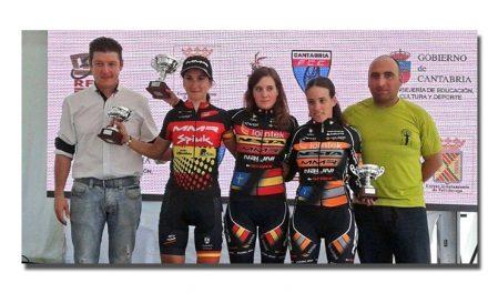 Alicia, Marco y Daniel Alonso vencen en Torrelavega
