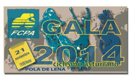 Gala del Ciclismo Asturiano, mañana viernes 21 en Pola de Lena