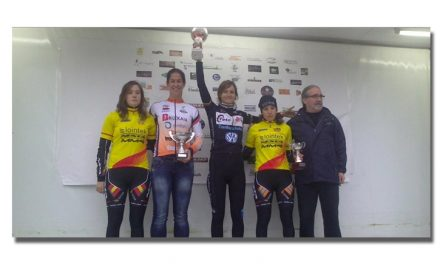 Rocío Gamonal y Aitor Hernández dominan en Las Arenas de Navia