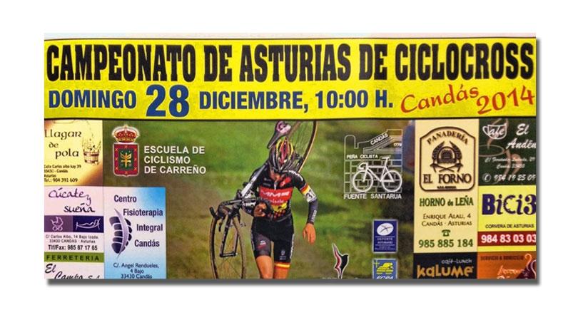 El regional de ciclocross el próximo domingo en Candás