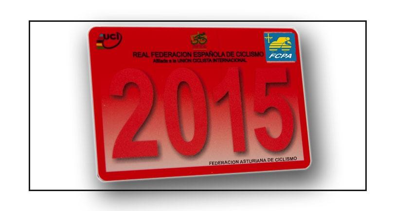 Licencia para correr el CTO. de España de Ciclocross en Gijón