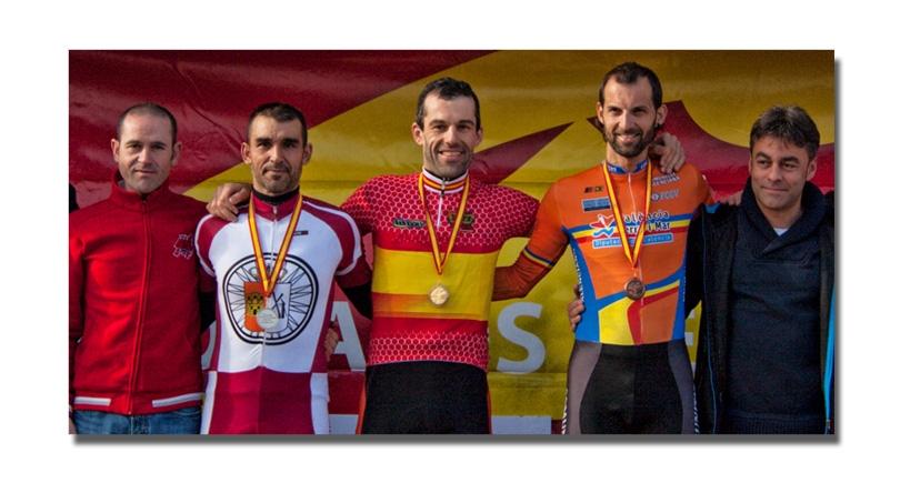 Marco Antonio Prieto tricampeón de España de ciclocross