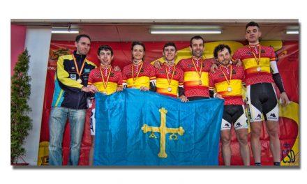 Asturias recupera el oro del Team Relay con las primeras medallas en juego