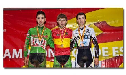 Finaliza el nacional de ciclocross con medalla de bronce para Richard Brun