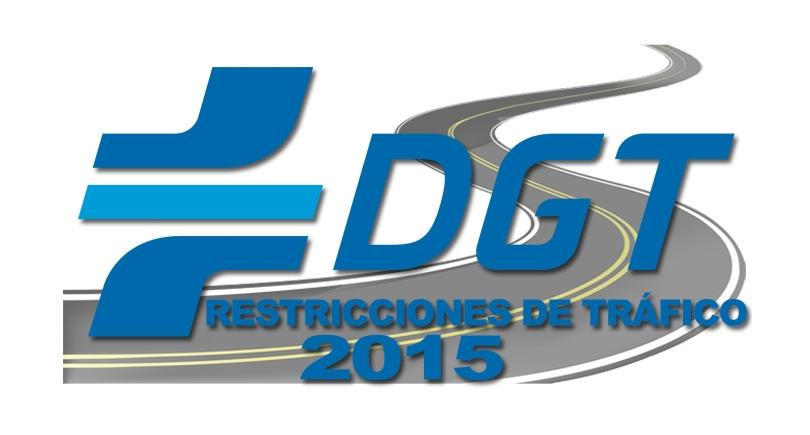 Medidas especiales de tráfico para el 2015