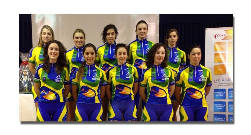 Presentación del equipo Guttrans femenino 2015