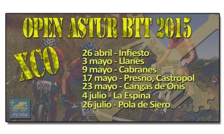 Nace el Open Astur BTT XCO con siete pruebas