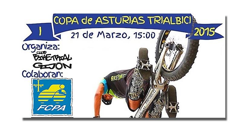 La Copa de Asturias de Trialbici inicia su andadura en Pola de Lena