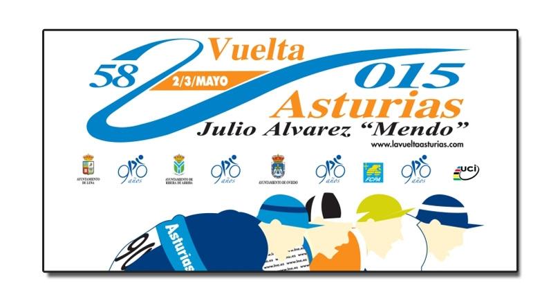 58 Vuelta Ciclista a Asturias 2-3 de mayo 2015