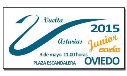 La Vuelta Ciclista a Asturias con los más peques del pelotón
