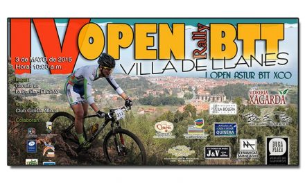 116 Inscritos para el IV Open BTT Rally Villa de Llanes