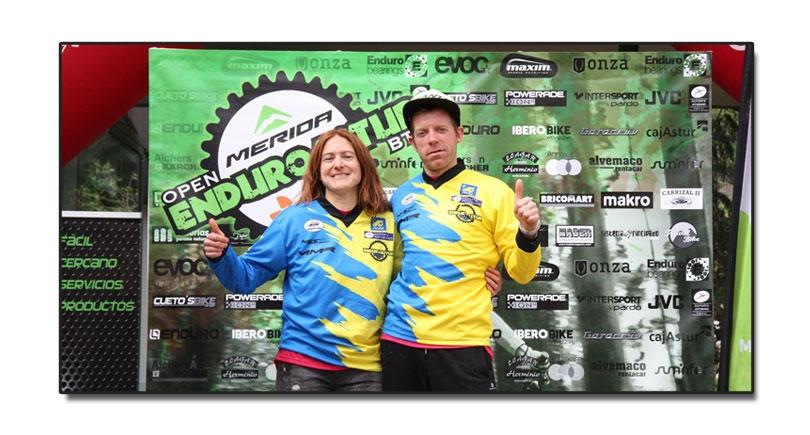 Arriola y Michalkova se imponen en el Enduro de El Entrego