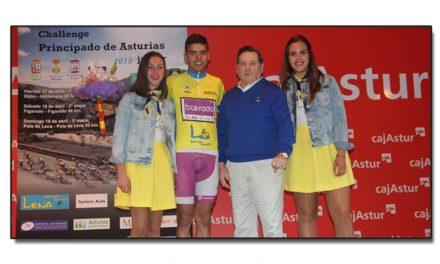 El portugués Carvalho primer líder de la Challagne del Principado de Asturias junior