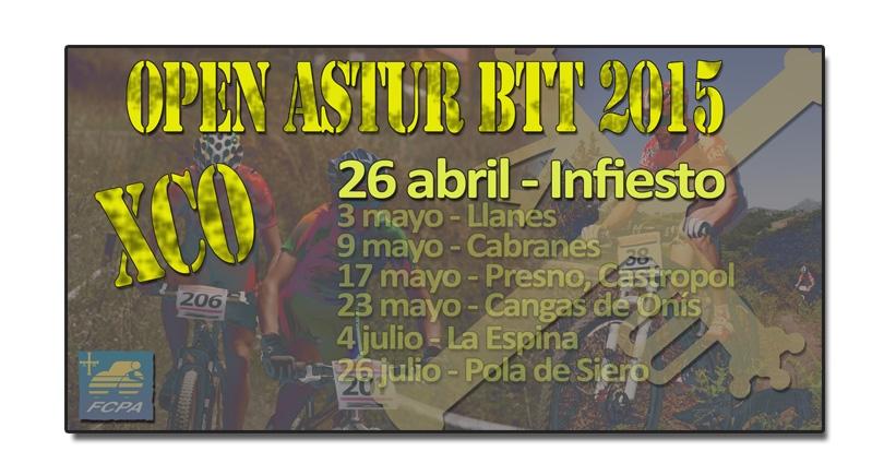 Comienza el Open Astur BTT con el I XC BTT Villa de Infiesto
