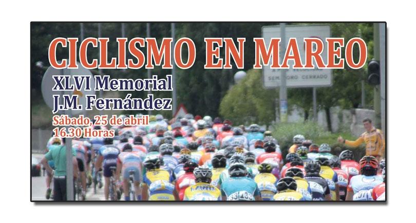 XLVI Memorial J. M. Fernández, próximo sábado 25 de abril