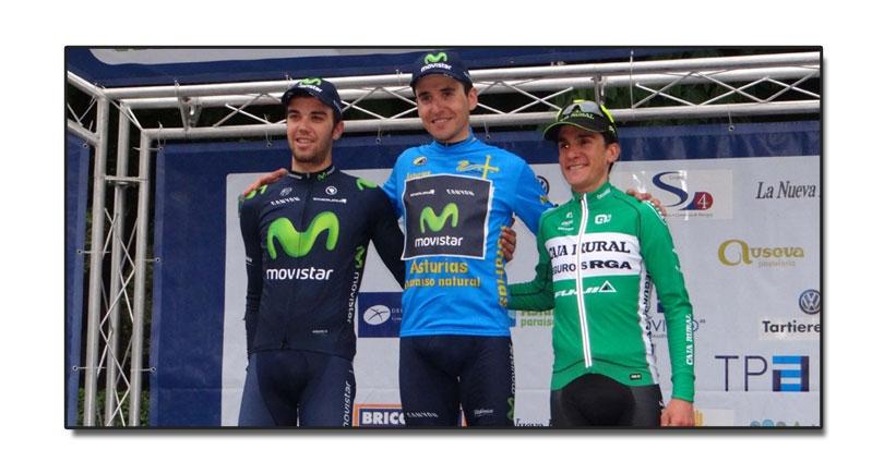 Dominio del Movistar en la 58ª Vuelta Ciclista a Asturias