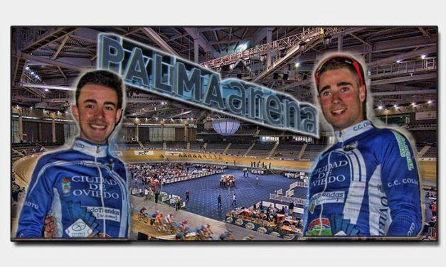 Dani Viejo y Alejandro Iglesias concentrados en el Palma Arena de Mallorca