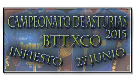 Infiesto sede de los Campeonatos de Asturias de BTT XCO 2015