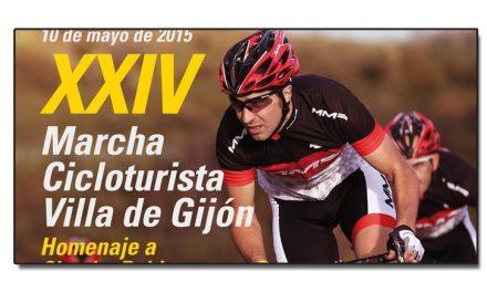 La 24ª Marcha cicloturista Villa de Gijón homenajea a Chechu Rubiera