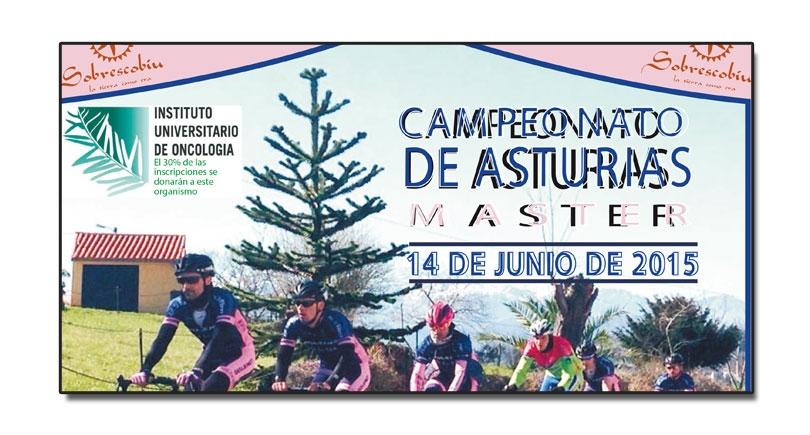 Memorial Arturo Carrio – Cto. de Asturias máster 2015. Próximo 14 de junio
