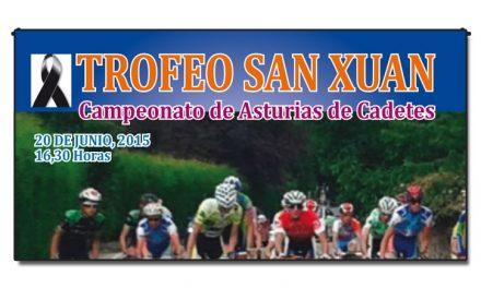 Trofeo Fiestas San Juan de Mareo. Cto. de Asturias cadete