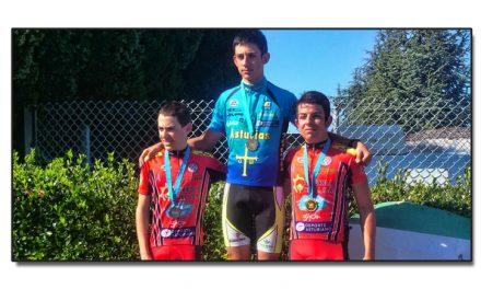 Yago Segovia Campeón de Asturias cadete en Mareo