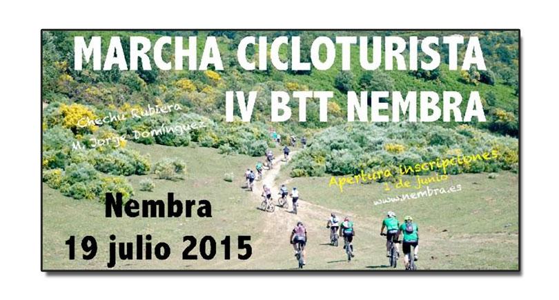 IV Marcha cicloturista Circular de Nembra