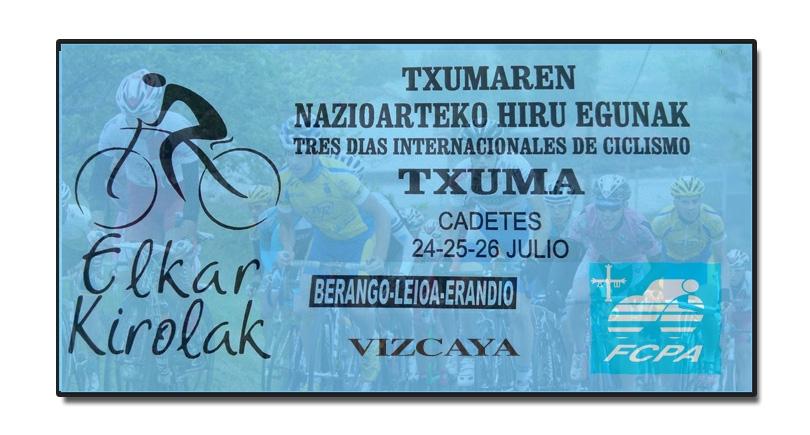 12 Asturianos en la cuarta edición del Txuma cadete