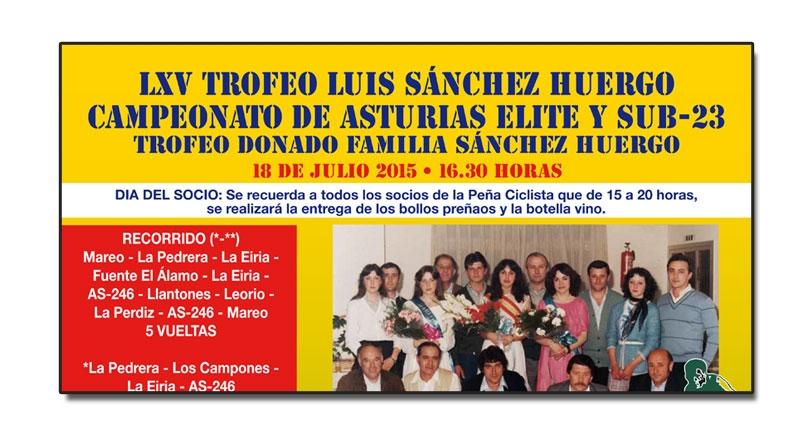 LXV Trofeo Luis Sánchez Huergo, CTO. de Asturias élite-sub23
