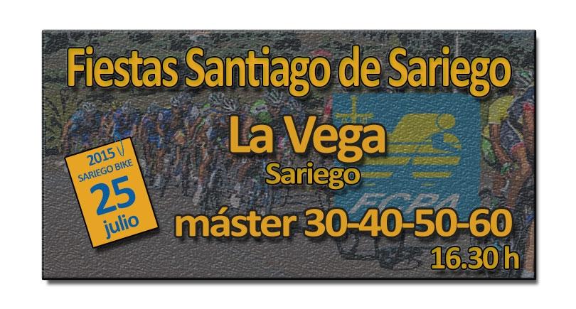Carrera máster Fiestas Santiago de Sariego