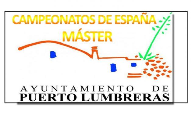 Programa, rutómetros y mapas Campeonatos de España máster
