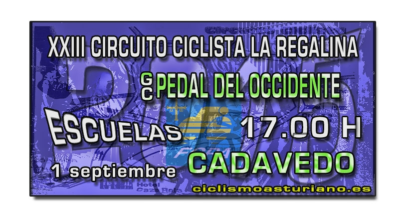 XXIII Circuito Ciclista La Regalina, Cadavedo
