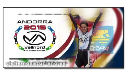Gamonal campeona del mundo máster 35-39 en el BTT XCO de Andorra