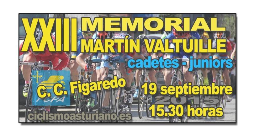 XXIII Memorial Martín Valtuille para cadetes y juniors