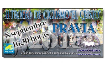 "I Trofeo de ciclismo ""El Cristo"" Pravia"