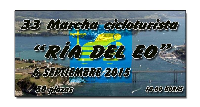 """33 Marcha cicloturista """"Ría del Eo"""""""