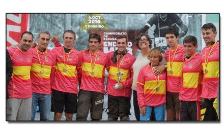 Covadonga González campeona de España de Enduro