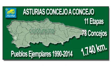 Últimos días para completar la Asturias concejo a concejo