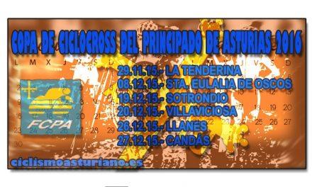 Todo listo para la Copa de ciclocross del Principado de Asturias