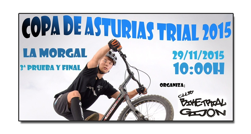 La Morgal despide la Copa de Asturias de Trialbici