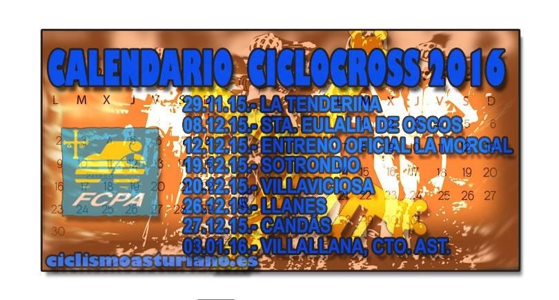 Actualización del calendario asturiano de ciclocross 2016