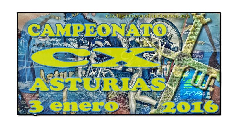 Campeonato de Asturias de ciclocross 2016