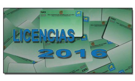 Comunicado situación actual licencias 2016
