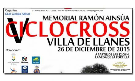 V Ciclocross Villa de Llanes-Memorial Ramón Ainsua. Copa CX Principado