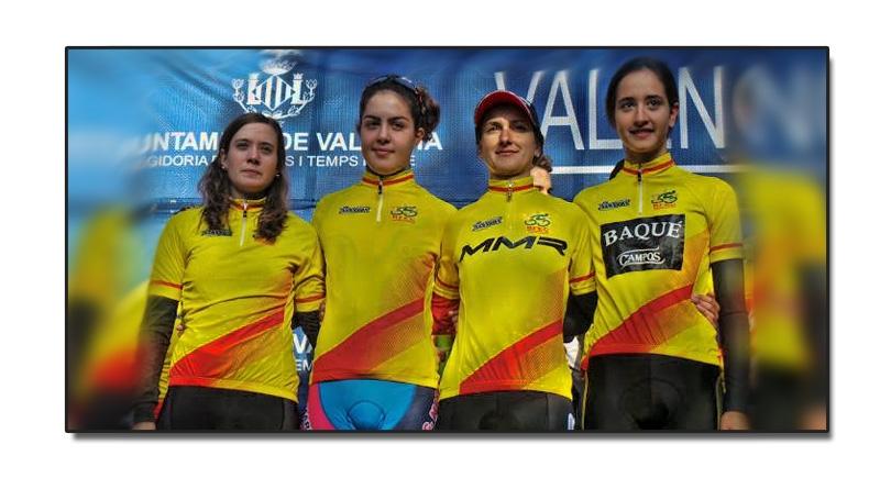 Aida y Alicia vencedoras de la Copa de España de CX