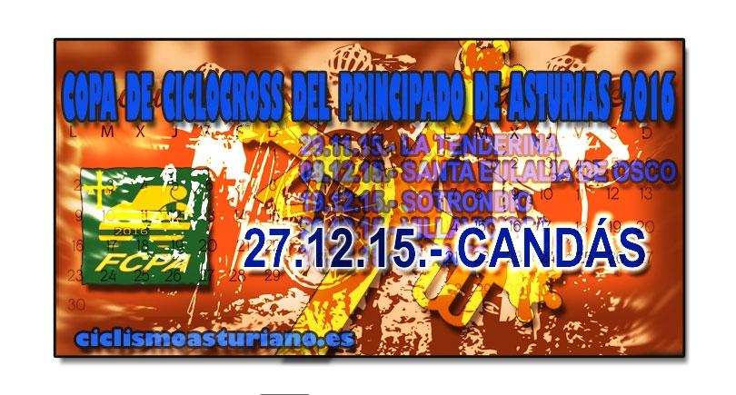 II Trofeo de Ciclocross Villa de Candás, final de la Copa de CX