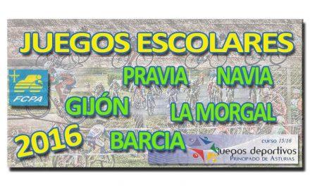 Juegos Deportivos del Principado curso 2015/16