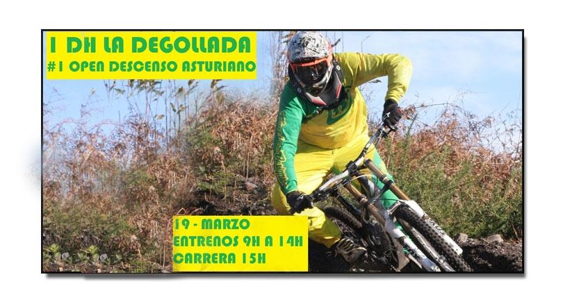 La Degollada, con 137 inscritos, abre la competición del descenso asturiano